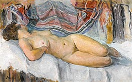 Nude Lying | Henri Lebasque | Painting Reproduction