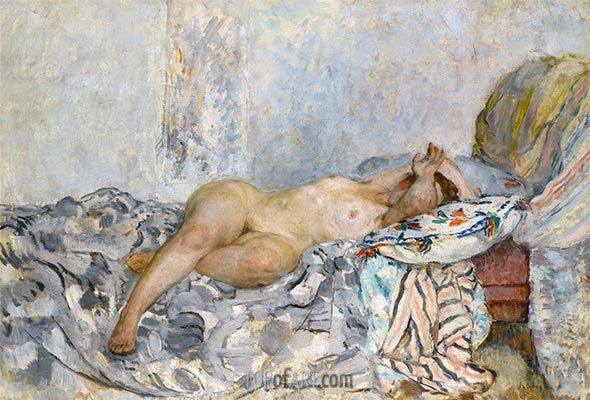 Odalisque, c.1925 | Henri Lebasque | Painting Reproduction