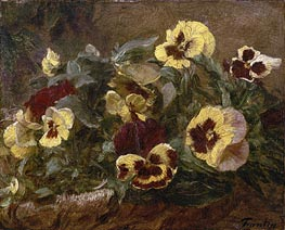 Pansies | Fantin-Latour | Painting Reproduction