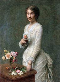 Madeleine Lerolle, 1882 by Fantin-Latour | Painting Reproduction