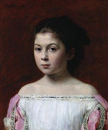 Marie-Yolande de Fitz-James, 1867 by Fantin-Latour | Painting Reproduction