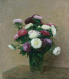 Asters | Fantin-Latour | Painting Reproduction