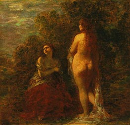 Dawn, c.1883 by Fantin-Latour | Painting Reproduction