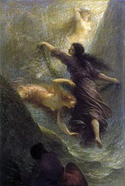 Rheingold (First Scene), 1888 by Fantin-Latour | Painting Reproduction