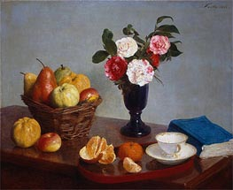 Still Life | Fantin-Latour | Painting Reproduction