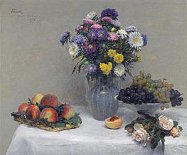 Flowers and Fruits | Fantin-Latour | Gemälde Reproduktion
