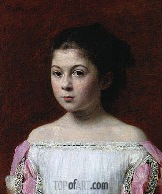 Marie-Yolande de Fitz-James, 1867 | Fantin-Latour | Painting Reproduction