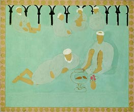 Arabian Coffee House | Matisse | Painting Reproduction