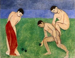 A Game of Bowls | Matisse | Gemälde Reproduktion