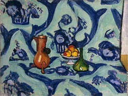 Still Life with Blue Tablecloth | Matisse | Gemälde Reproduktion