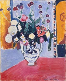Bouquet (Vase with Two Handles) | Matisse | Gemälde Reproduktion
