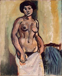 Nude Study, 1908 by Matisse | Painting Reproduction