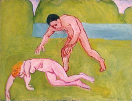 Nymph and Satyr | Matisse | Painting Reproduction