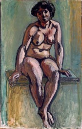 Seated Woman | Matisse | Gemälde Reproduktion