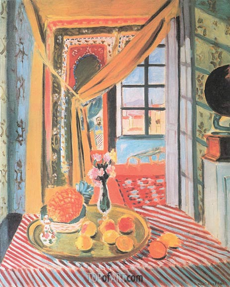 Interior with a Photograph, 1924 | Matisse | Gemälde Reproduktion