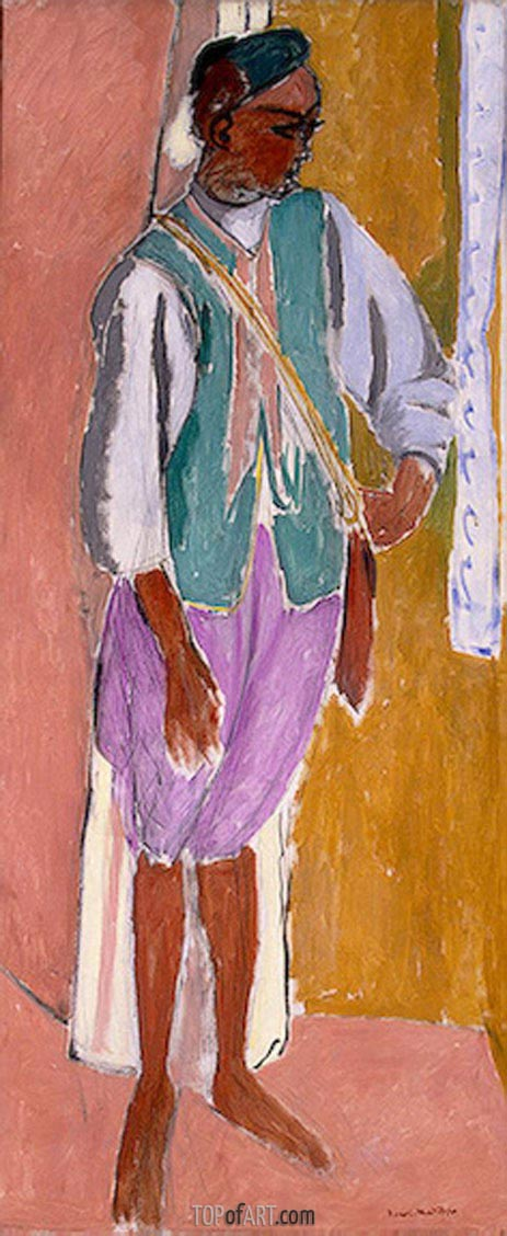 The Moroccan Amido, 1912 | Matisse | Painting Reproduction