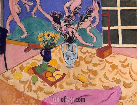 Still Life with The Dance, 1909 | Matisse | Painting Reproduction