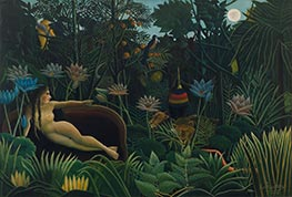 The Dream, 1910 by Henri Rousseau | Painting Reproduction
