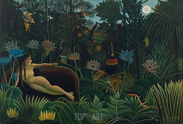 The Dream, 1910 | Henri Rousseau | Painting Reproduction