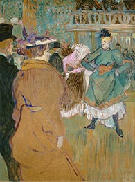Quadrille at the Moulin Rouge, 1892 by Toulouse-Lautrec | Painting Reproduction