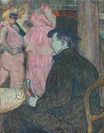 Maxime Dethomas, 1896 by Toulouse-Lautrec | Painting Reproduction