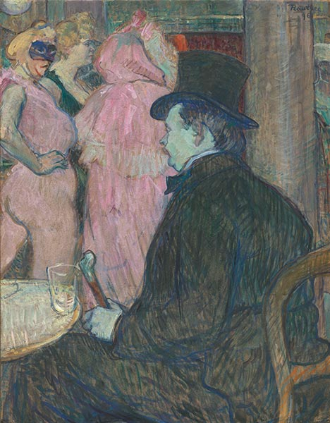Maxime Dethomas, 1896 | Toulouse-Lautrec | Painting Reproduction