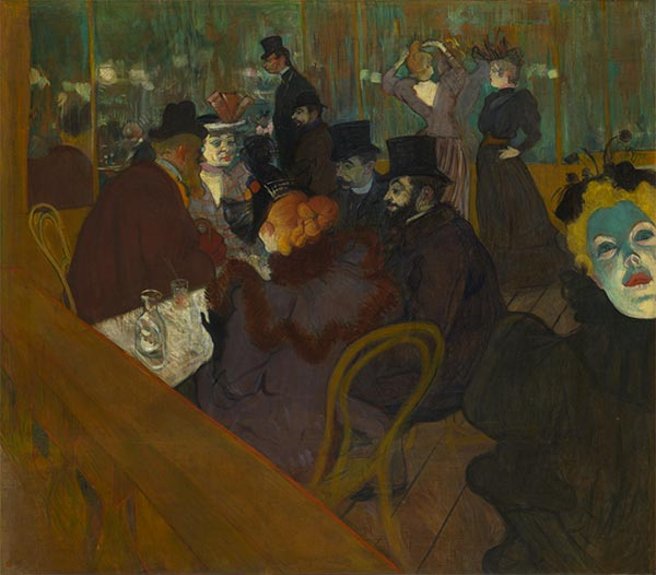 At the Moulin Rouge, c.1892/95 | Toulouse-Lautrec | Painting Reproduction