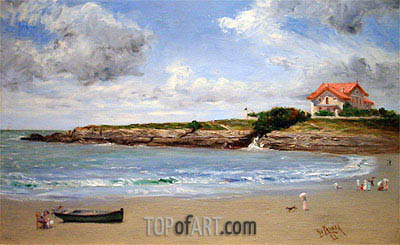 Seascape in France, 1893 | Henry Ossawa Tanner | Painting Reproduction