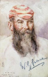 W. G. Grace | Tuke | Painting Reproduction