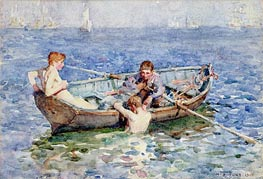 August Blue, 1915 by Tuke | Painting Reproduction