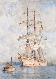 The White Ship, 1915 by Tuke | Painting Reproduction