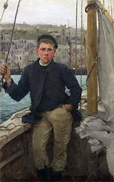 Our Jack, 1886 by Tuke | Painting Reproduction