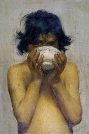 Drinking | Tuke | Painting Reproduction