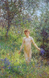 Bluebells, 1907 by Tuke | Painting Reproduction