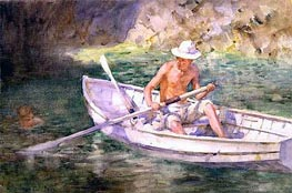 Green Waters | Tuke | Painting Reproduction