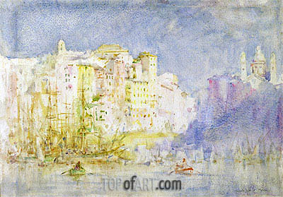 Genoa, 1912 | Tuke | Painting Reproduction