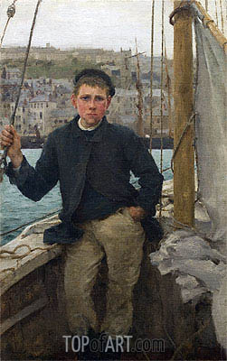 Our Jack, 1886 | Tuke | Painting Reproduction