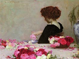 Pot Pourri, 1897 by Herbert James Draper | Painting Reproduction
