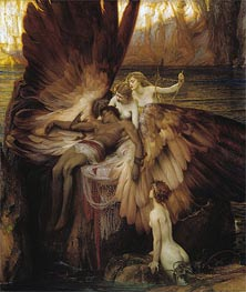 The Lament for Icarus, 1898 von Herbert James Draper | Gemälde-Reproduktion