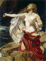 Ariadne | Herbert James Draper | Painting Reproduction