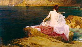 Calypso's Isle | Herbert James Draper | Painting Reproduction