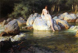 The Kelpie, 1913 by Herbert James Draper | Painting Reproduction