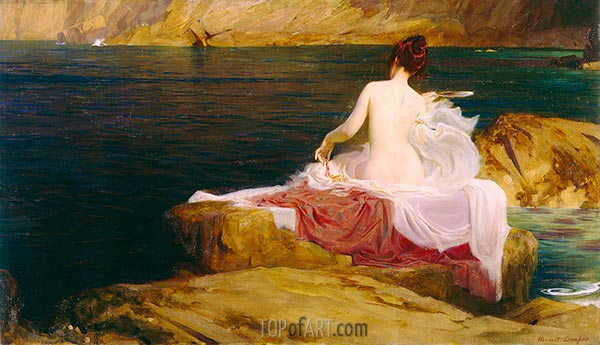 Calypso's Isle, c.1897 | Herbert James Draper | Painting Reproduction
