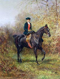 The Morning Ride | Heywood Hardy | Gemälde Reproduktion