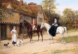 The Gamekeeper's Daughter | Heywood Hardy | Painting Reproduction