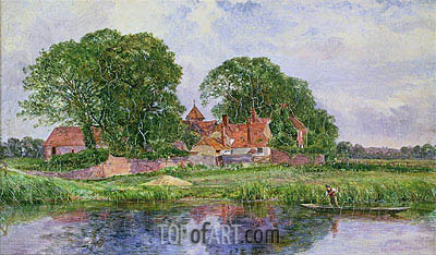 The Old Manor House, undated | Heywood Hardy | Gemälde Reproduktion