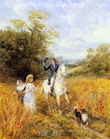 The Morning Ride, undated | Heywood Hardy | Gemälde Reproduktion