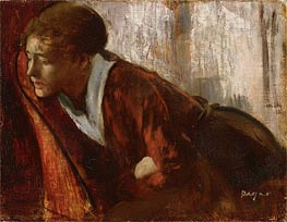 Melancholy, c.1874 by Degas | Painting Reproduction