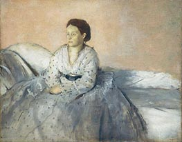 Madame Rene de Gas | Degas | Painting Reproduction
