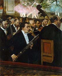The Opera Orchestra | Degas | Painting Reproduction